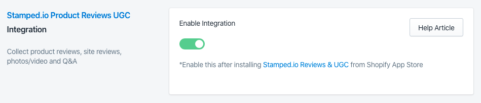Sparq and Stamped.io Integration